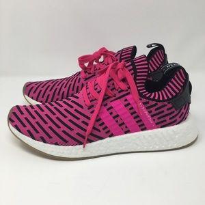 f0f9b7835e31e adidas Shoes - NO OFFERS Adidas NMD R2 Pink Shock men 11 BY9697